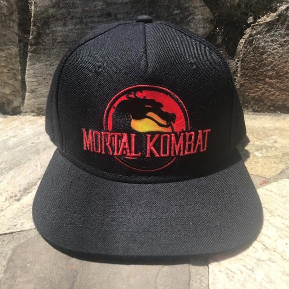 145c379079799 Vintage Mortal Kombat Snapback. M 5b44519512cd4a32ec0ef044. Other  Accessories ...